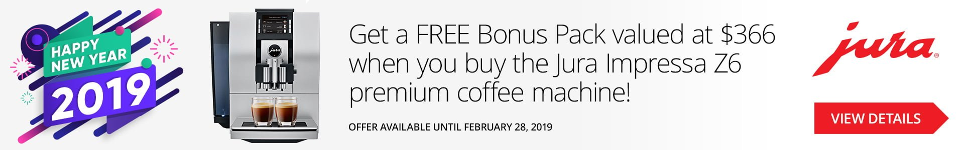 coffee machine special offer
